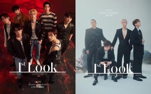 ATEEZ, BTOB, iKON, SF9, Stray Kids, The Boyz