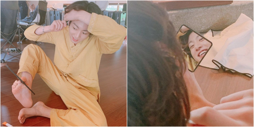 Netizens talk about BTS Jungkook's rare moments wearing an adorable yellow outfit instead of his usual all-black