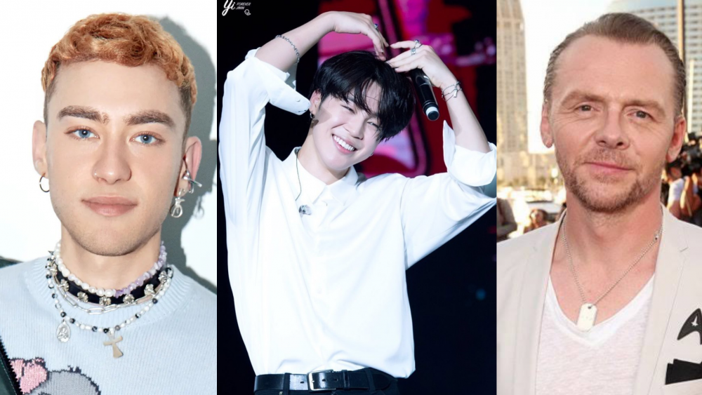 Award-winning British musician Olly Alexander and Acclaimed English Actor Simon Pegg revealed to be fans of BTS's Jimin