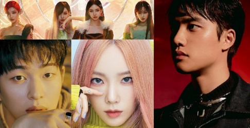 aespa, EXO, D.O., Kai, Taeyeon, NCT 127, NCT Dream, Red Velvet, SHINee, Onew, Key, Super Junior, Eunhyuk, Kyuhyun, Donghae
