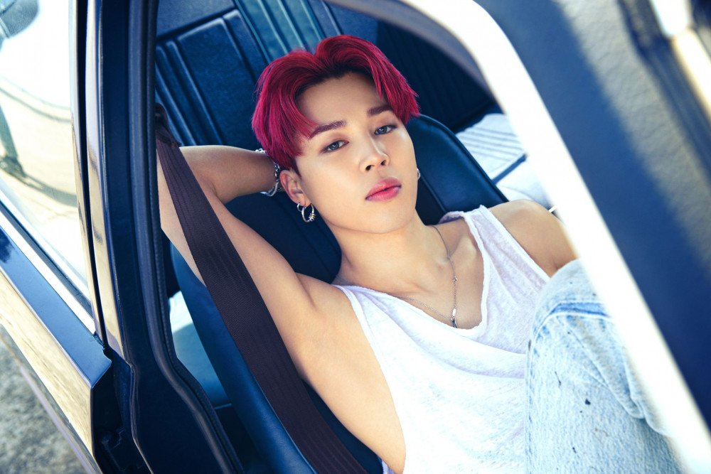 BTS's Jimin sets a new Instagram record with his Butter Concept Photo  Version 3! | allkpop