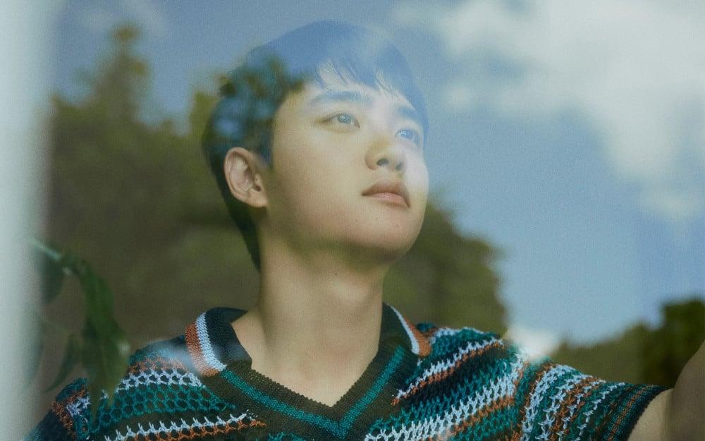 EXO's D.O. drops new peaceful concept photos for his first solo mini-album ' Empathy' | allkpop