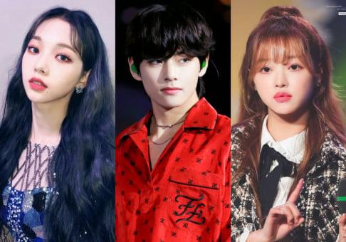aespa, Winter, Karina, Cha Eun Woo, BTS, V, YooA