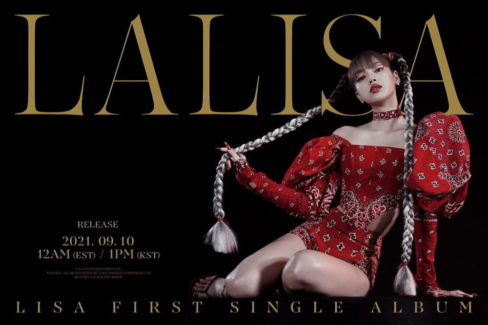 Lisa Debut Solo   allkpop