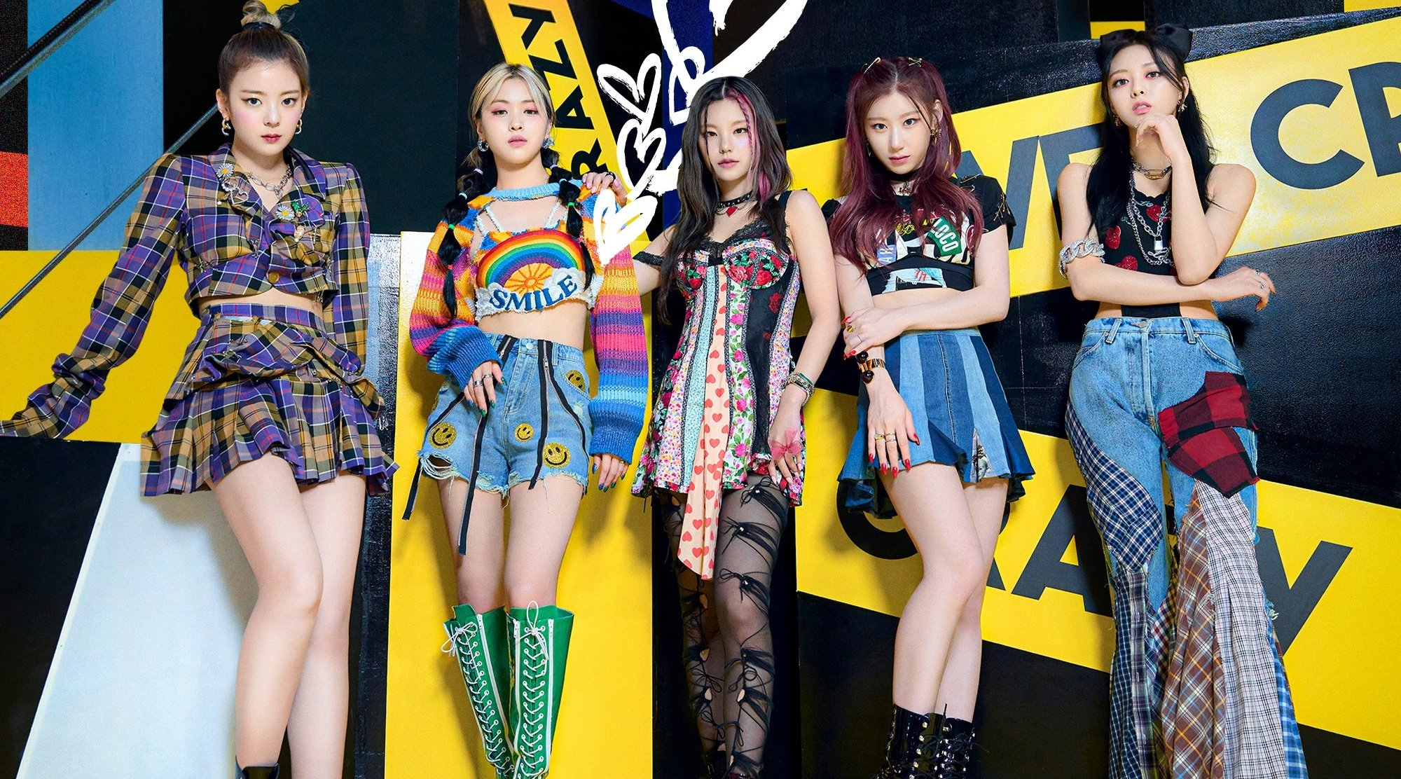 ITZY drops colorful group concept image for 'Loco'   allkpop