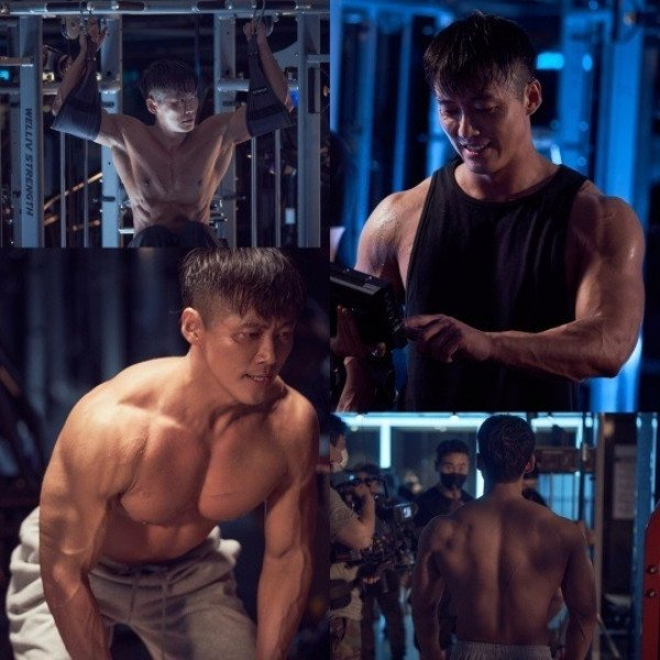 Actor Nam Goong Min gives a closer look at his +10kg bulked up physique in  new still cuts for upcoming drama 'The Veil'   allkpop