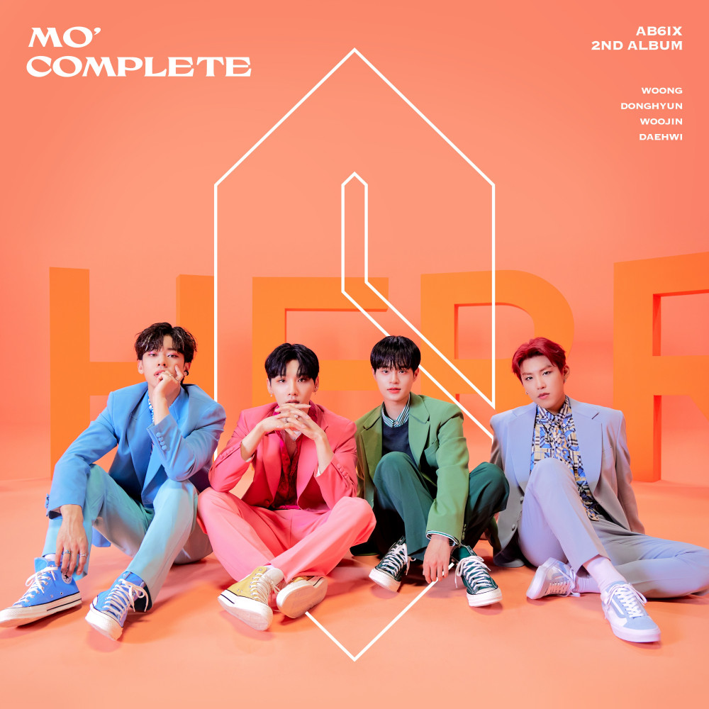 AB6IX unveils cover artwork for 'MO' COMPLETE' | allkpop
