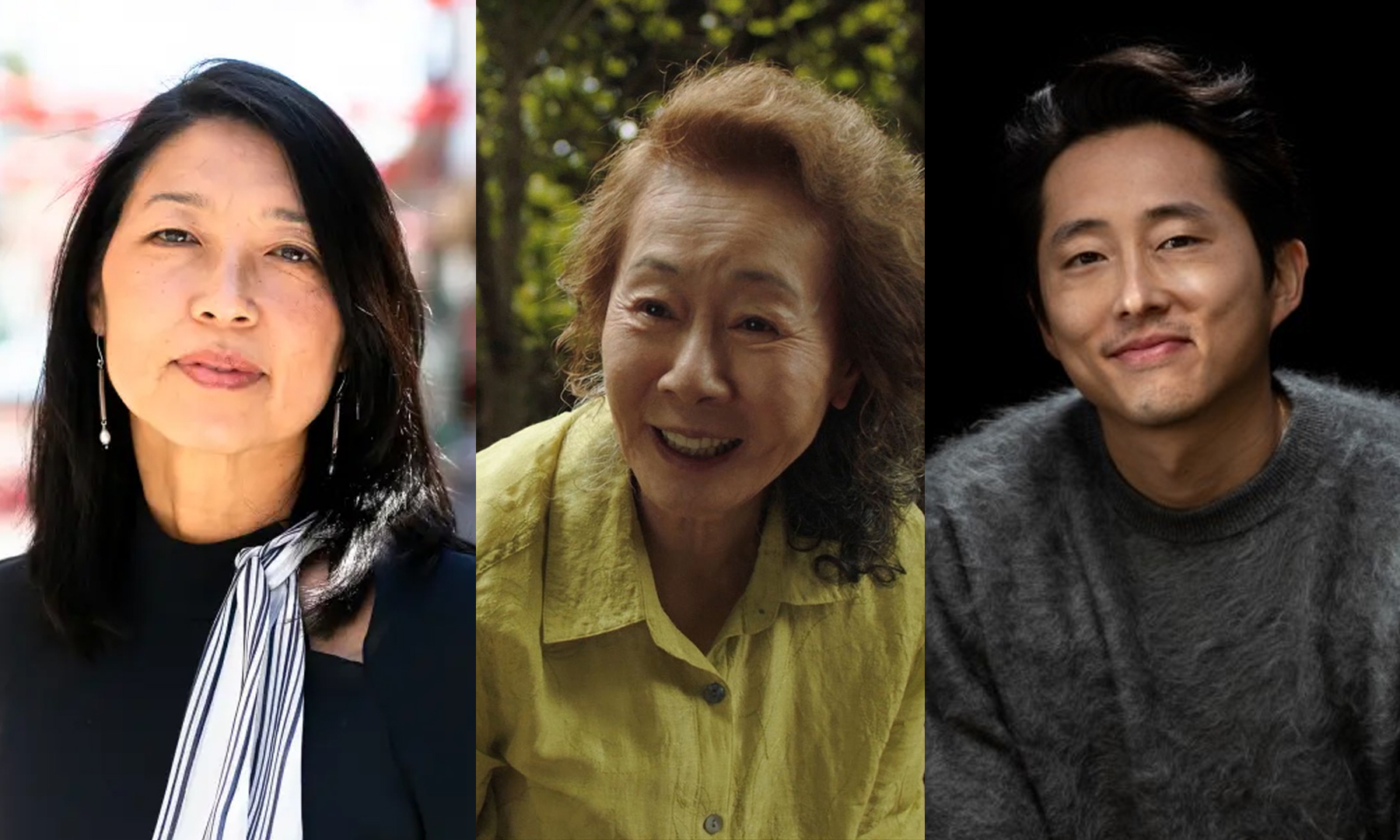 Three Koreans - Cynthia Choi, Youn Yuh Jung, and Steven Yeun - are named in TIME's 100 Most Influential People of 2021