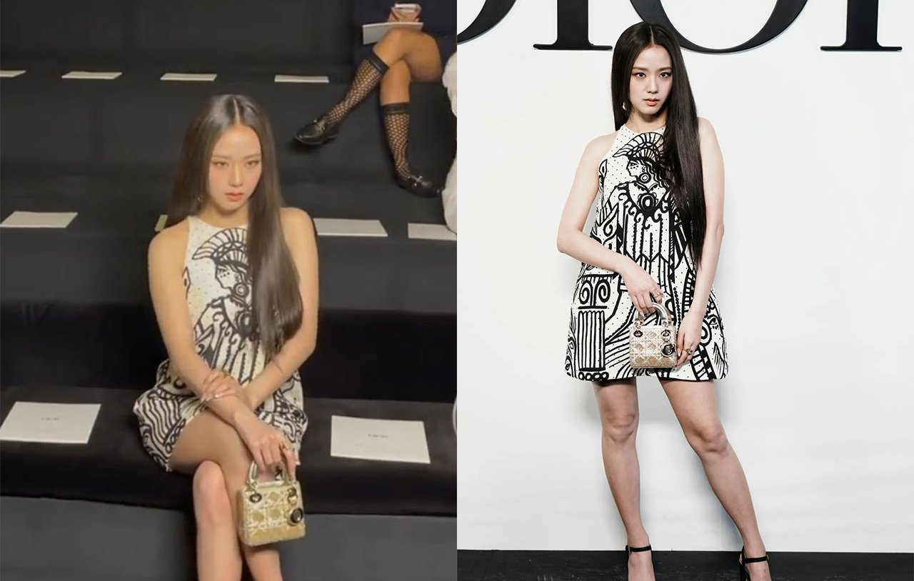 BLACKPINK's Jisoo wows at the Dior spring/summer 2022 show in Paris