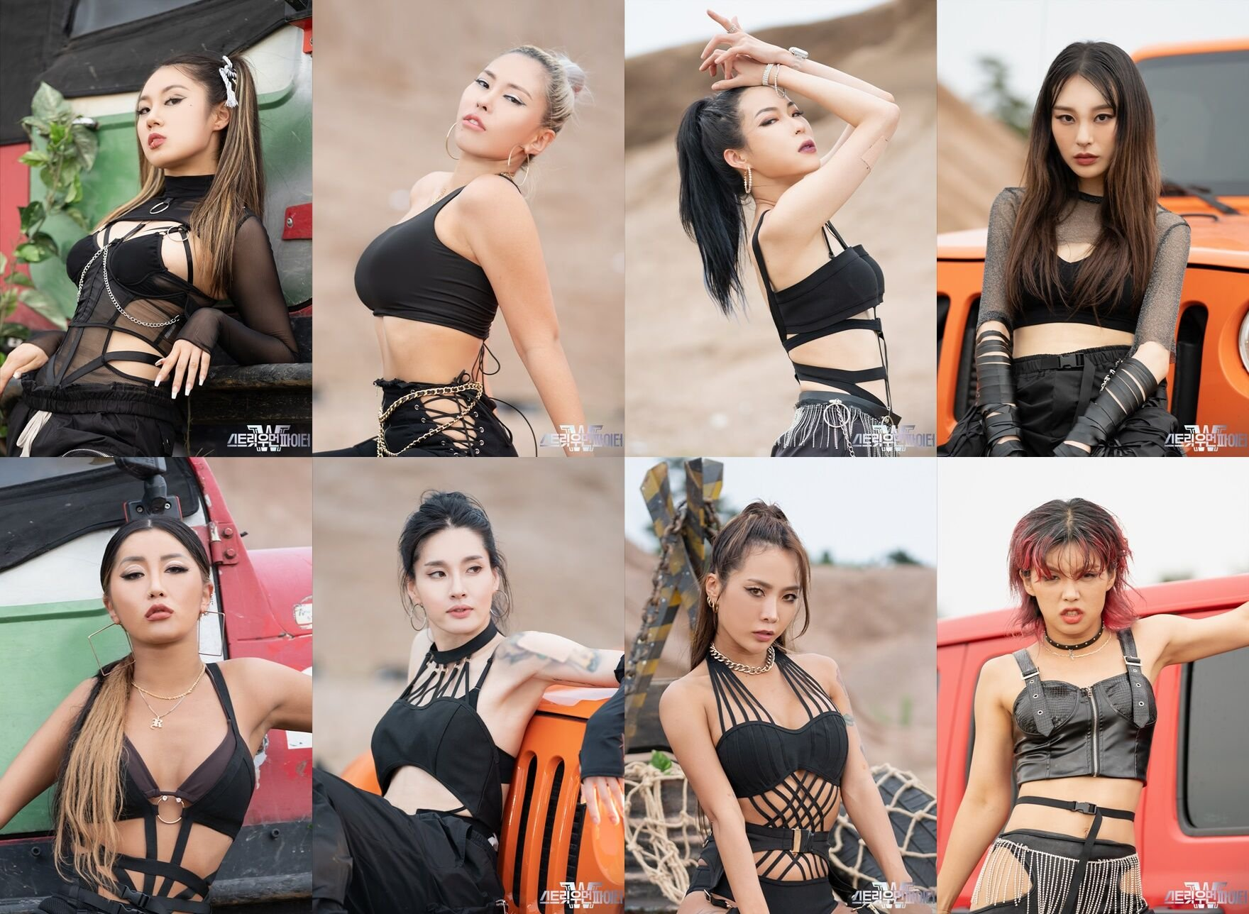 The eight dance crew leaders of 'Street Woman Fighter' to make an appearance on 'MMTG - Civilization Express'