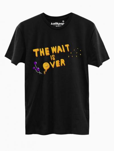 Wait Over Tee - $18