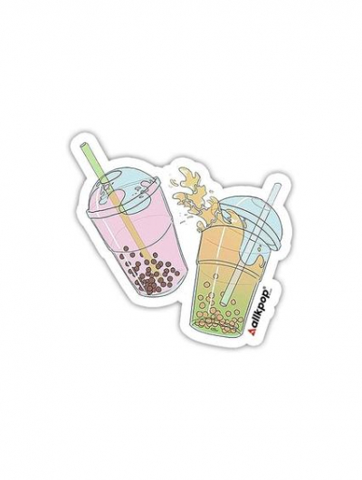 Boba Sticker - $3