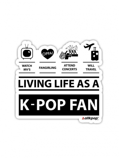 Fan Life Sticker - $3