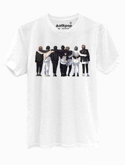 BTS HUG TEE - $18