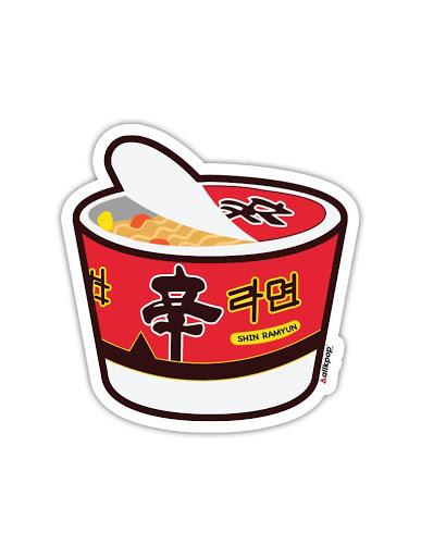 Ramyun Sticker - $3