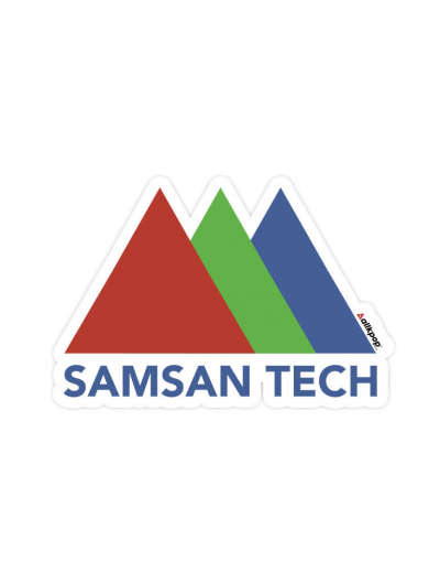 Samsan Tech Sticker - $3