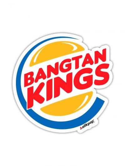 Bangtan Kings Sticker - $3