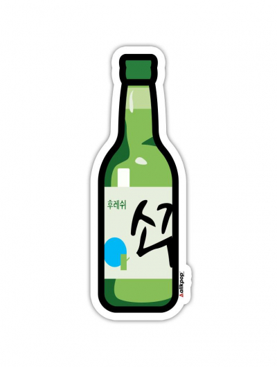 Soju Sticker - $3