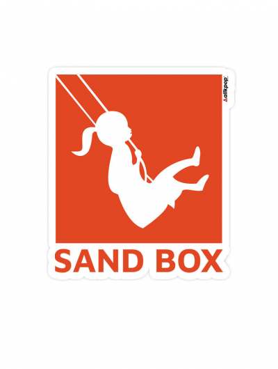 Sandbox Sticker - $3