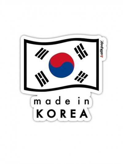 MADE IN KOREA - $3