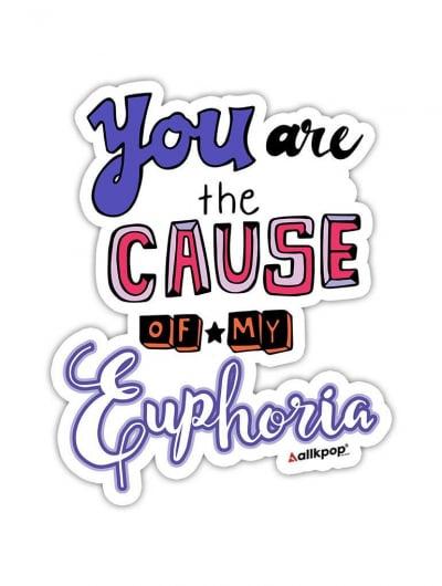 Euphoria Sticker - $3
